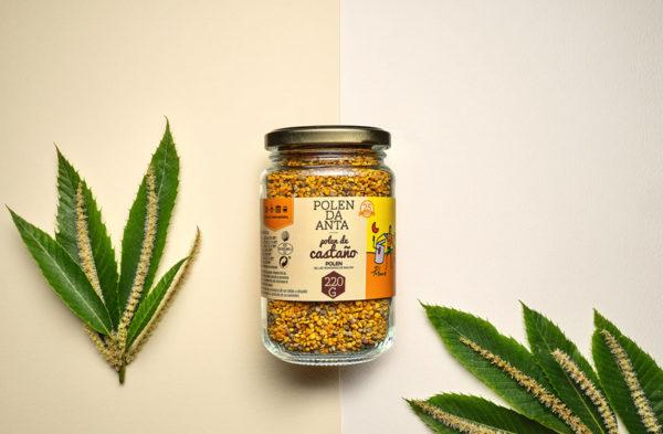 polen de castaño