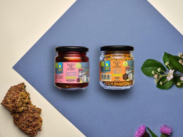 pack de regalo miel