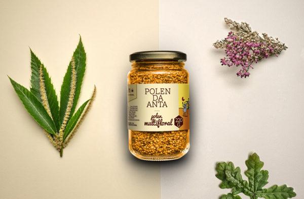 miel de polen de flores