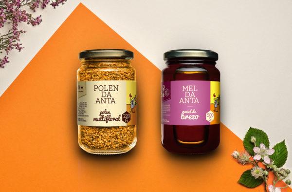 Pack de polen y miel